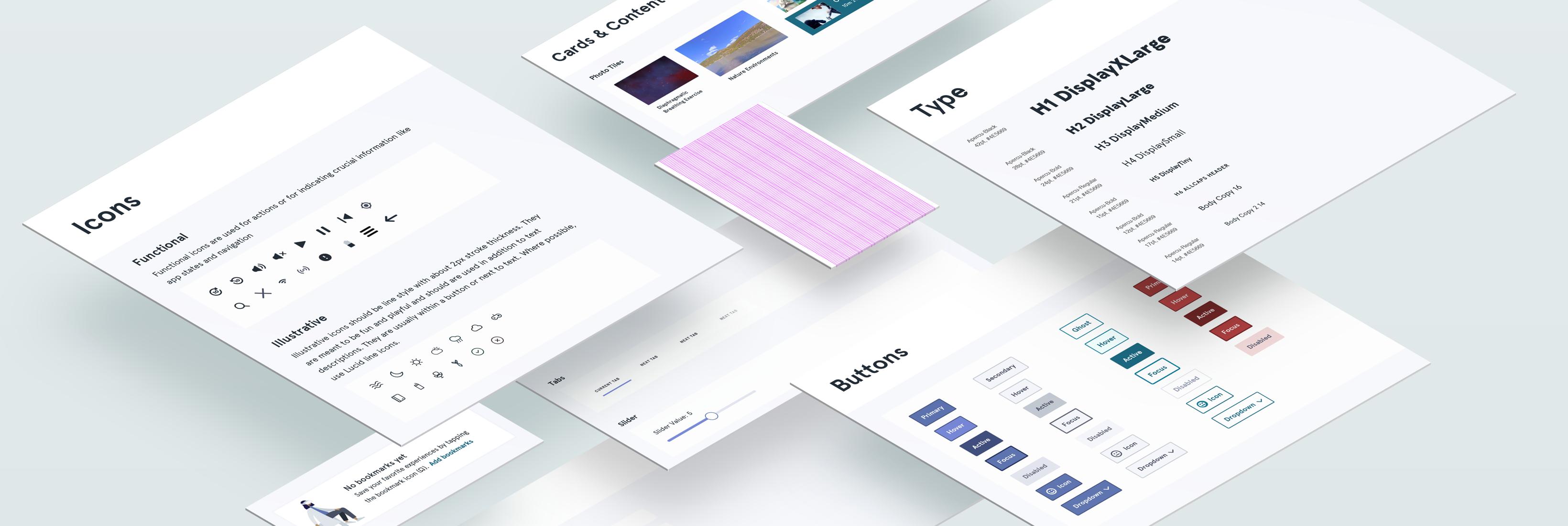 Myla Fay › Limbix Design System